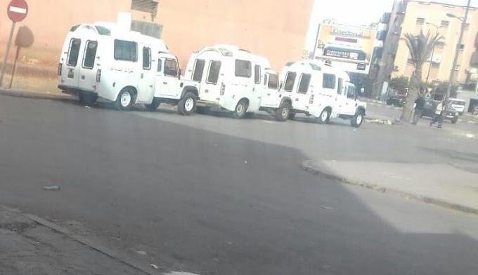 El Ejército marroquí ha cercado la ciudad saharaui de El Aaiún