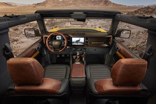 Interior Ford Bronco 2 Puertas 2020