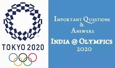 India Olympics 2020