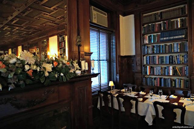 Comedor del Library Restaurant en Portsmouth, NH