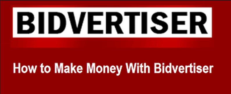 Make Money with Bidvertiser