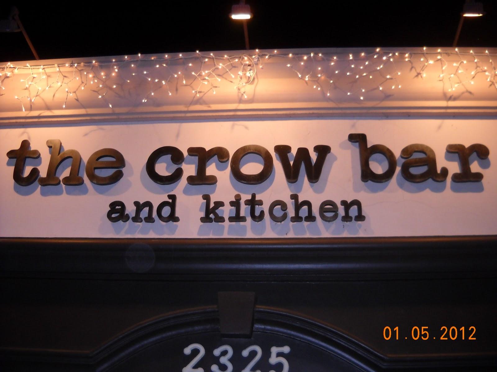 Eating My Way Through OC: Not Eating Like A Bird At Crow Bar
