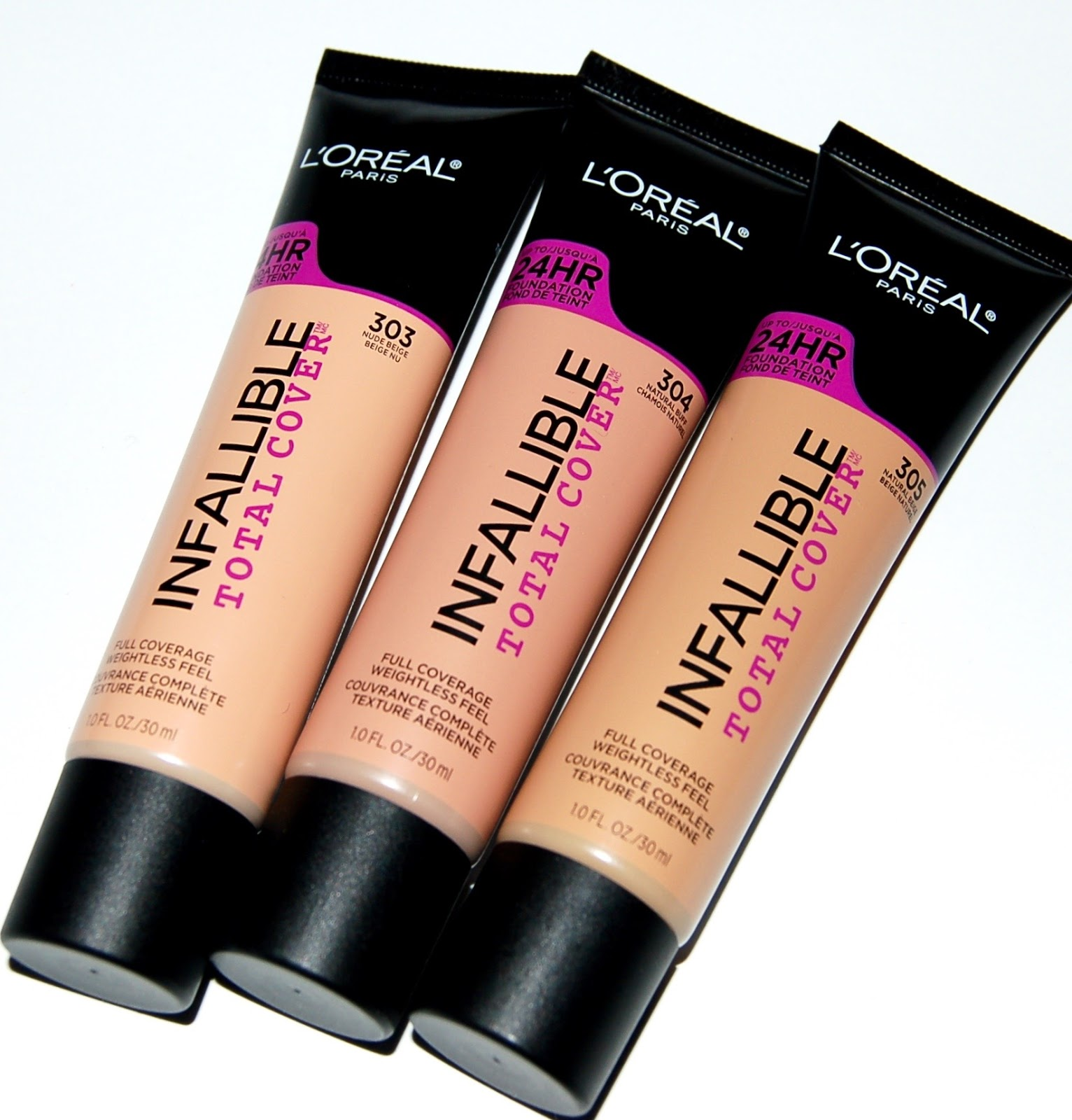 Review: LOreal Infallible Total Cover Foundation - Almost