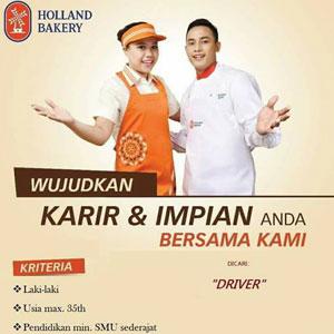 Lowongan Kerja Driver di Holland Bakery Makassar