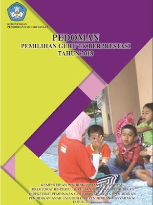 Pedoman Pemilihan Guru TK Berprestasi Tahun 2018