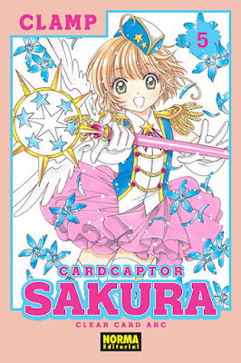 "Manga: Review de ""Card Captor Sakura: Clear Card"" Vol. 5 de CLAMP - Norma Editorial"