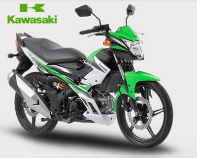 Motor Kawasaki Bebek Terbaru