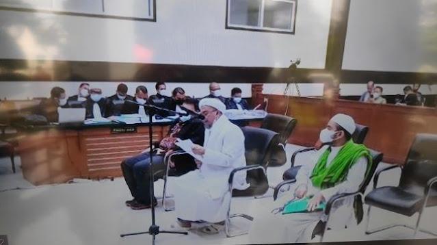 Habib Rizieq: Jaksa Memang Lawan Kami dalam Perkara, Tapi Bukan Musuh Kami