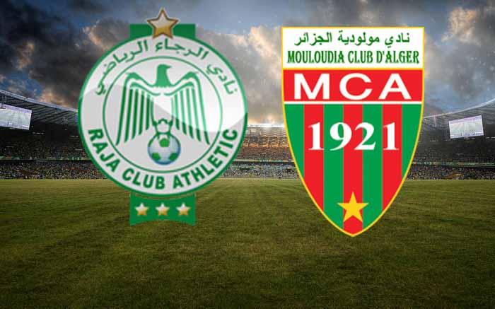 موعد مباراة الرجاء ومولودية الجزائر
