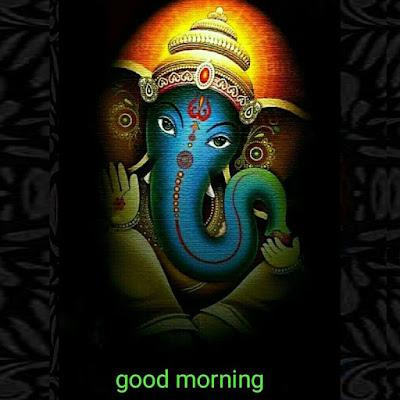 Ganesh Ji Good Morning Images in English