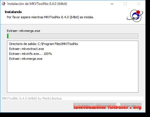 MKVToolnix v8 4 0 Multilenguaje (Español) + Portable, Crea y
