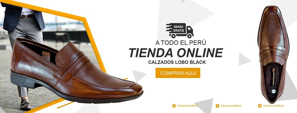 Tienda Online de calzados Lobo Black