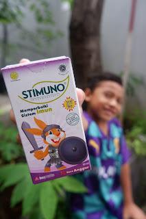 Bentengi si Kecil  Dari Berbagai Penyakit Dengan Stimuno untuk Meningkatkan Imun Tubuh