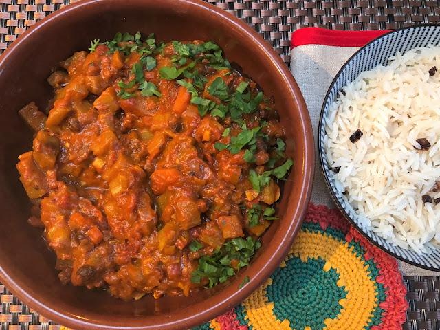 vegan curry, vegetarian curry