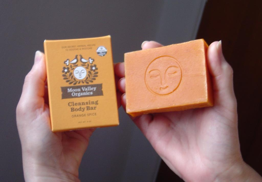 The Remedy Rush Moon Valley Organics New Moon Orange Cleansing Bar