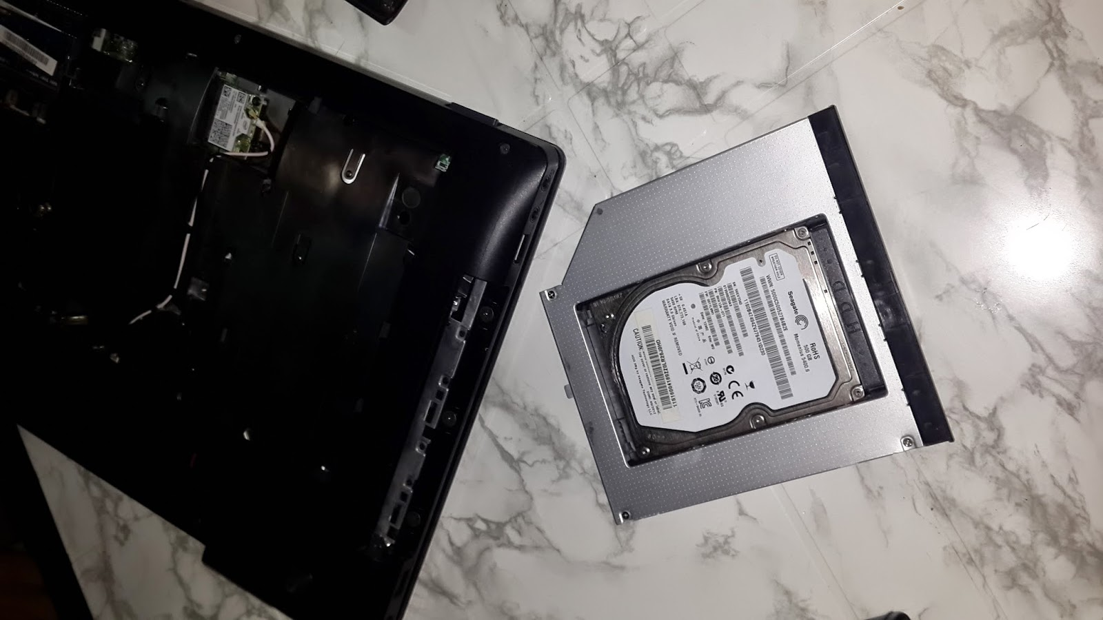 Lenovo Z580 HDD kutusu Caddy