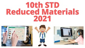 10th Science Reduced Materials 2020-2021