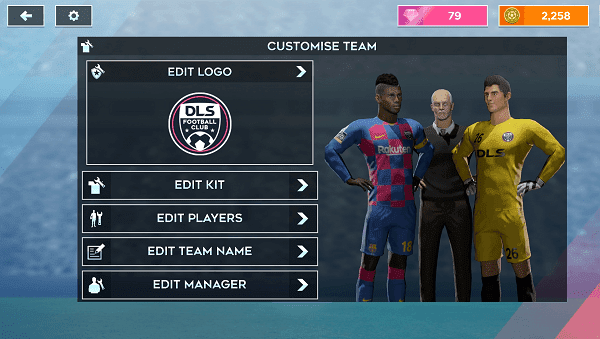 Customise kit dream league soccer 2020