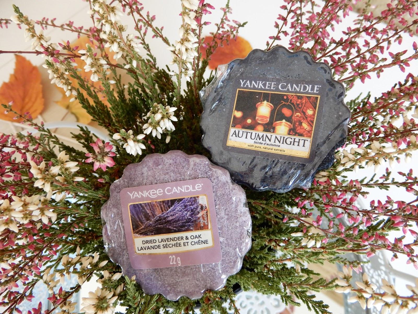 Woski Yankee Candle| Autumn Night i Dried Lavender&Oak