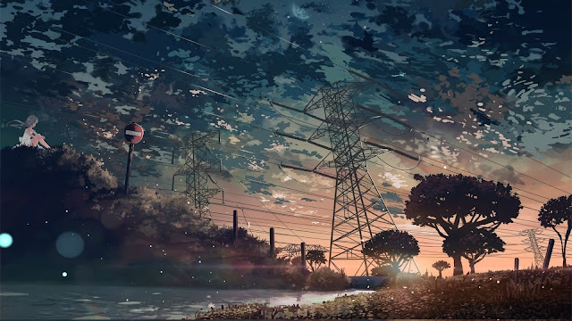 aesthetic moving background