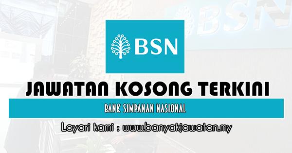 Jawatan Kosong 2020 di Bank Simpanan Nasional (BSN)