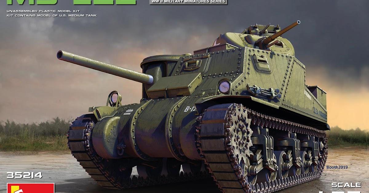 Late Version Takom Models 1//35 US Medium Tank M3 Lee