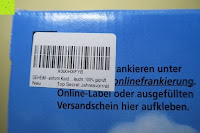 Etikett am Karton: GEHEIM - einhorn Kondom JAHRESVORRAT - NEUTRAL Versand - 7 Packungen Kondome a 7 Stück (49) vegan, design, hormon frei, echte Gefühle, feucht, 100% geprüft