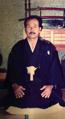 Mestre Yoshihide Shinzato