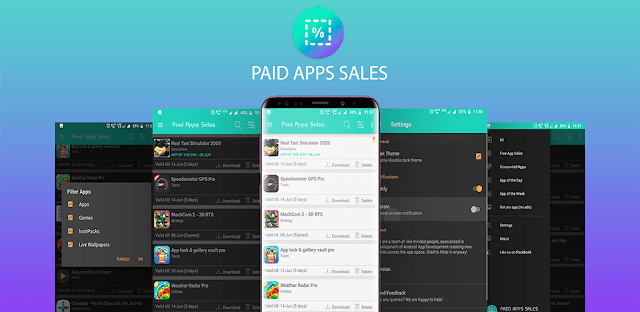 Paid Apps Sales Pro - Apps Free For Limited Time v1.22 (Paid) Apk