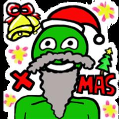 Green Naughty Alien-Merry Christmas! (2)