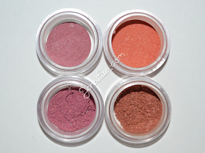 Silk Naturals Fall 2012 Blushes Review & Swatches