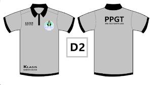 Desain baju organisasi gereja