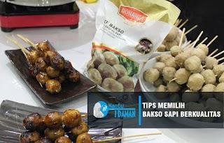 Tips Memilih Bakso Daging Sapi