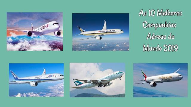 10 Melhores Companhias Aéreas do Mundo em 201