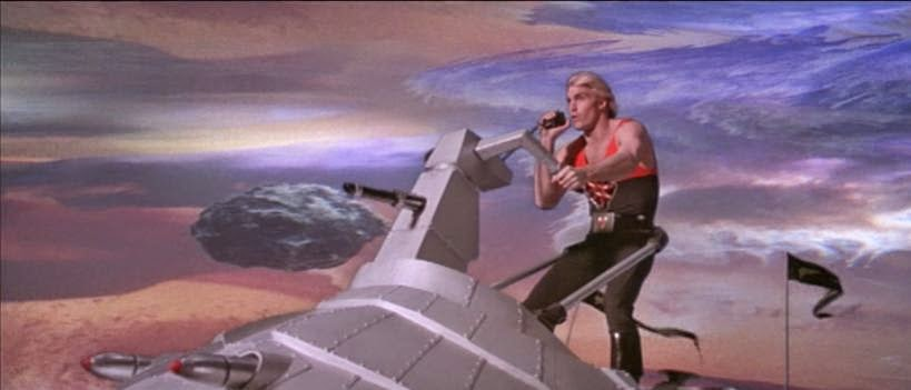 Flash Gordon -  el fancine - cine fantástico - el troblogdita - Álvaro García - @repaci31 - '80s
