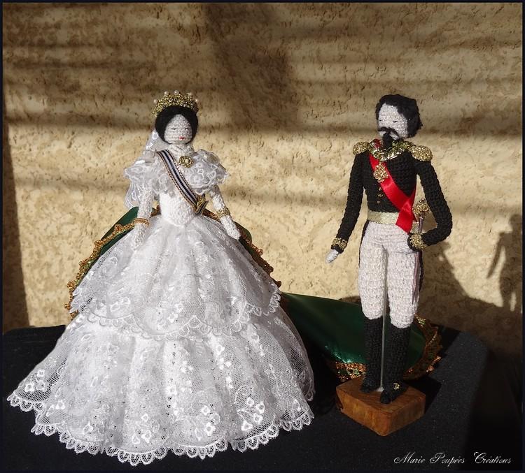 L'Impératrice Eugénie et Napoléon III