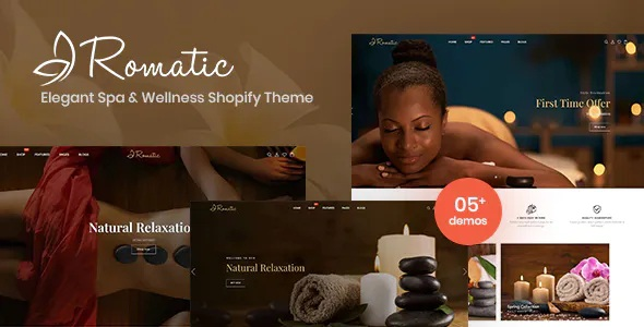 Best Elegant Spa & Wellness Shopify Theme