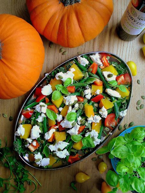 Sałatka z pieczoną dynią i ricottą / Roast Pumpkin Ricotta Salad