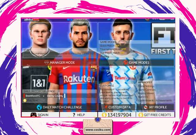 FTS 22 Android Offline 300MB Apk Data + OBB Update Transfer & Kits 2022
