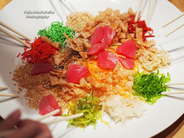 Auspicious Yee Sang from RM40.00+