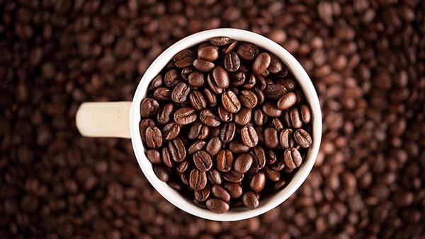 Café Java produzidos na ilha indonésia de Java
