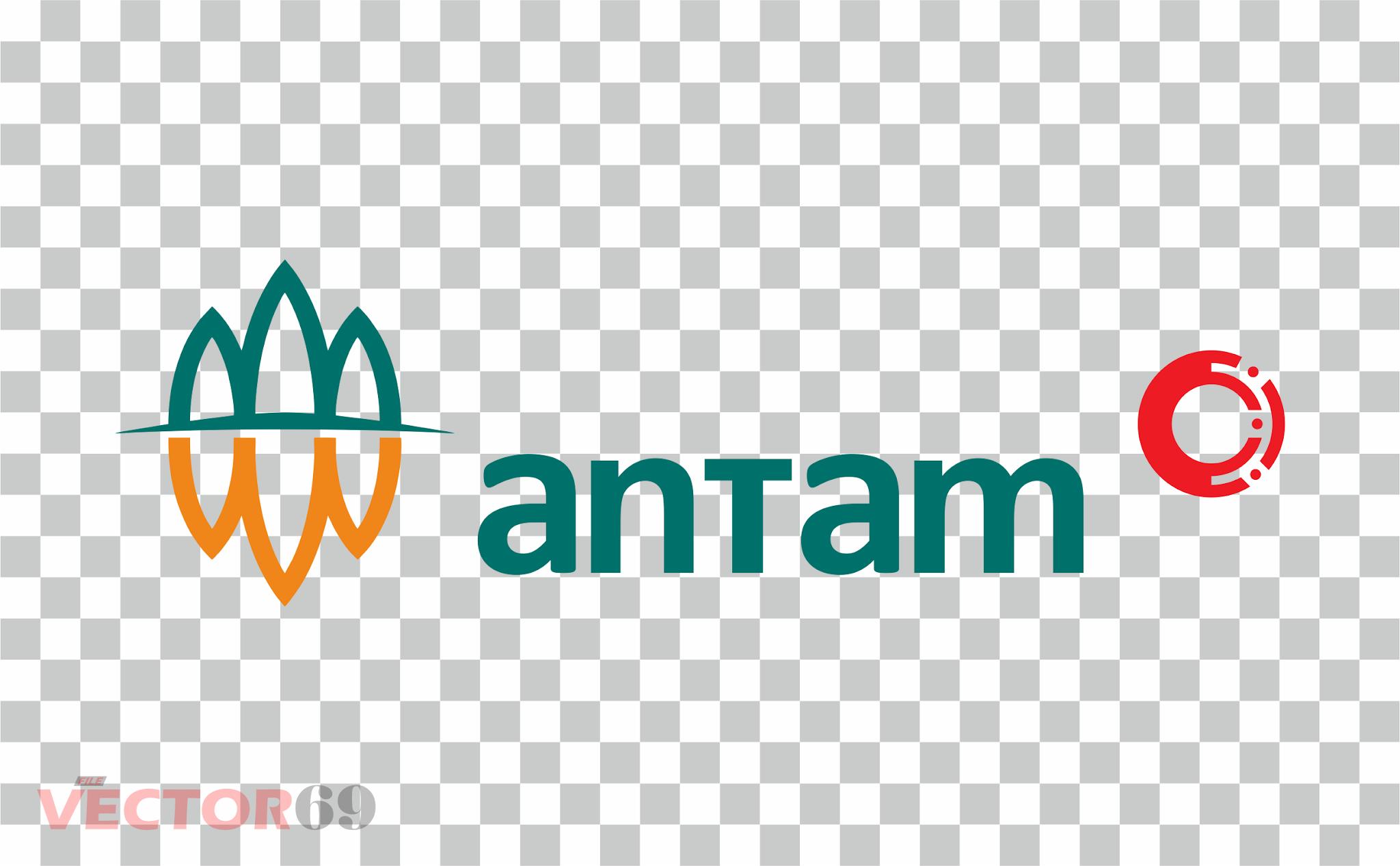 Antam (Aneka Tambang) Logo - Download Vector File PNG (Portable Network Graphics)