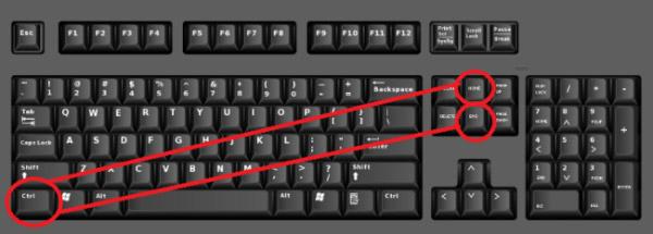 computer keyboard shortcut keys information