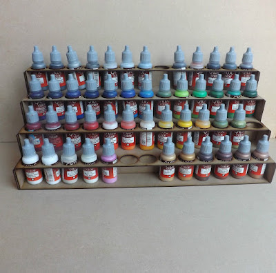 Paint Stand 52 bottle rack storage warpaint