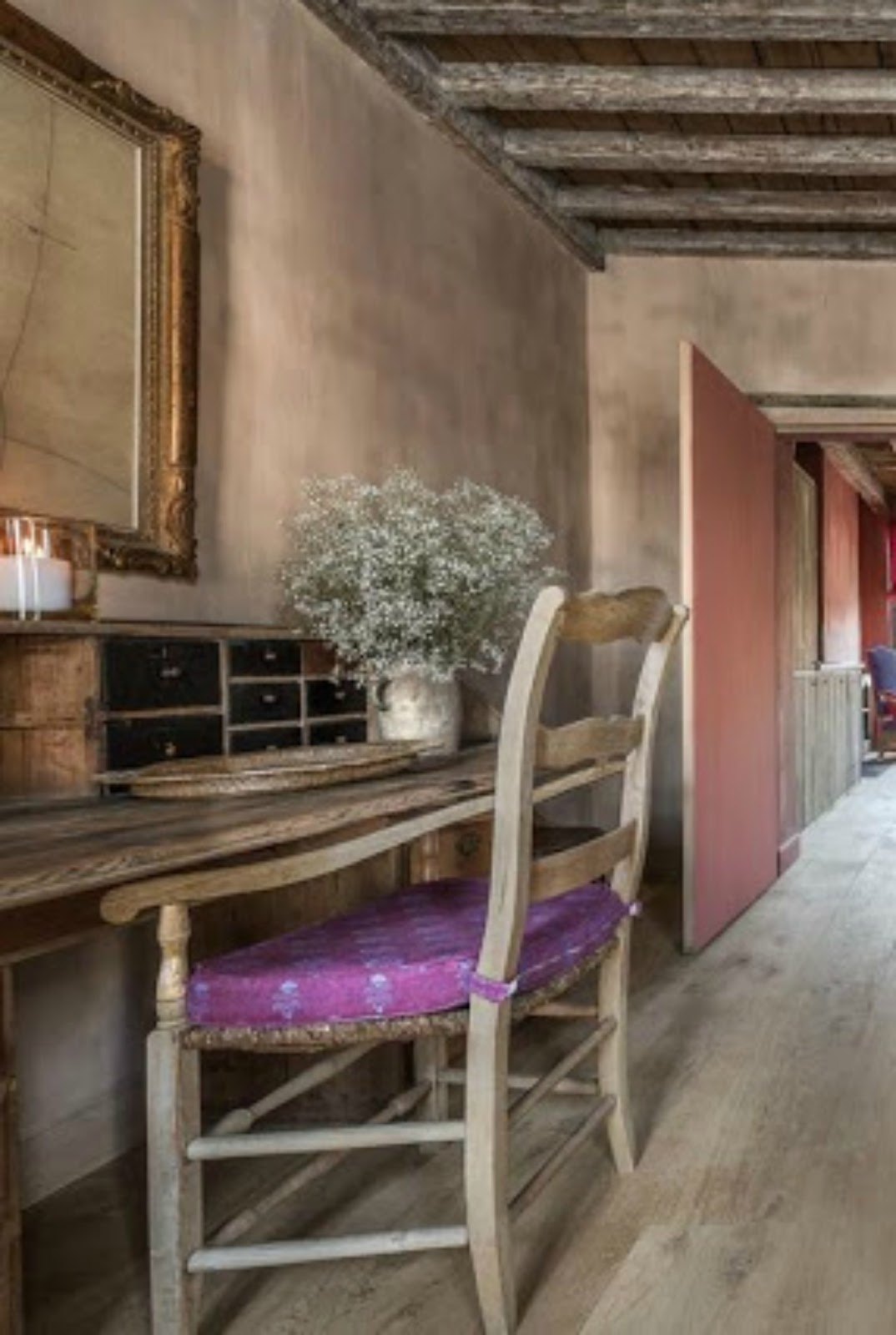 Sophisticated Belgian interior design in a bedroom in Bruges - found on Hello Lovely Studio