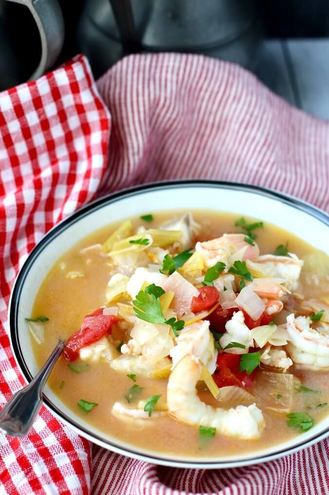 Portuguese Fish Stew (Caldeirada de Peixe)