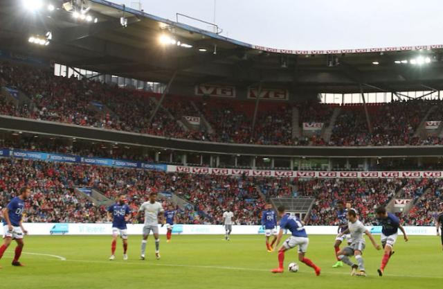 AGEN BOLA - Manchester United meraih kemenangan pada laga pramusim keenamnya