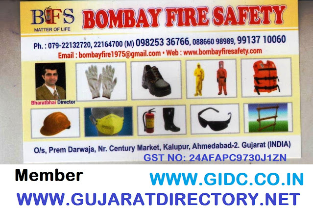 BOMBAY FIRE SAFETY - 9913710060, 9825336766, 8866098989, 24AFAPC9730J1ZN