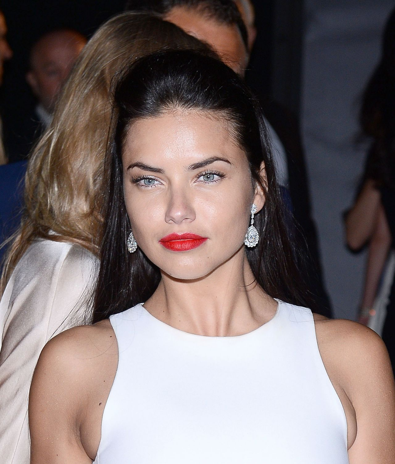HQ Photos of Victoria's Secret Fashion Show Model Adriana Lima Soiree Chopard Gold Party 2015 Cannes Film Festival