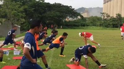 Wujudkan Pelatih Berkualitas, Dua Asisten Pelatih Semen Padang FC ikut Lisensi A Diploma